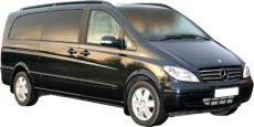 Tours of Portsmouth and the UK. Chauffeur driven, top of the Range Mercedes Viano people carrier (MPV)
