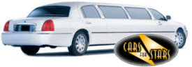 Limo Hire Portsmouth - Cars for Stars (Portsmouth) offering white, silver, black and vanilla white limos for hire
