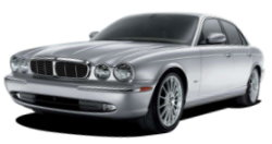 Chauffeur driven cars in Portsmouth area, including the long wheel based version of the new Jaguar XJ